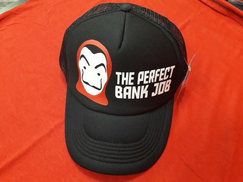 Gorra La Casa De Papel Perfect Bank Job Original Netflix 53b9bf77278