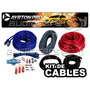 Kit De Cables 8 Gauges Para Potencias 1500w Max Deluxe 7620