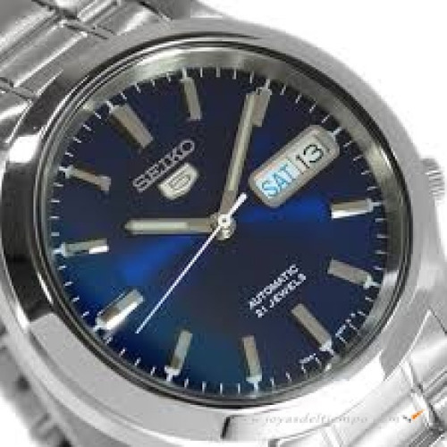 Reloj Seiko 5 Automatico Acero Inox. Snk793k1 Gtia 5676f7932684