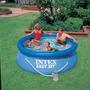 Pileta Intex 244x76 Capacidad 2419 Litros Con Filtro