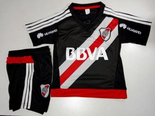 889e0f2a3 Conjunto Camiseta+short River Plate 2018 Niños Envíos!