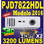 Proyector Viewsonic Pjd7822 3200 Lum1080 Hdmix2 Dongle Wifi