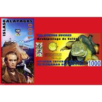 Islas Galápagos Billete De 1000 Sucres Año 2009 Sin Circular