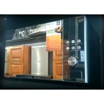 Microondas Gris Hitplus 30 Litros Grill Garantia Cm302dg