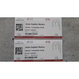 Entradas Anne-sophie Mutter. Teatro Colon. Paraiso
