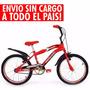 Bicicleta Mega Rodado 20 Varon Nene Mujer Nena Bmx Env S/cgo
