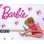 Vinilos Decorativo Infantiles Nena Barbie Bebe Dormitorio