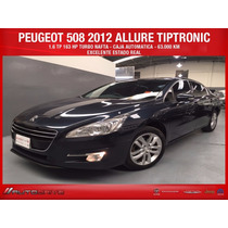 Peugeot 508 Allure Nafta Caja Tipt 1.6 Thp Impecable !!!