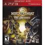 Mortal Kombat Vs Dc Universe Ps3 Nuevo Sellado Original