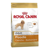 Alimento Royal Canin Breed Health Nutrition Caniche Perro Adulto 7.5kg