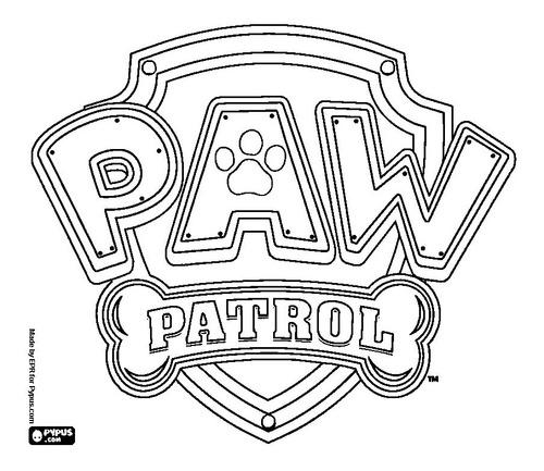Libritos Para Colorear Paw Patrol Y Otros Personajes En