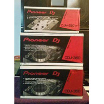 Set Pioneer Cdj 350 + Djm 250w