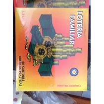 Lotería Familiar 48cartones Con Bolillos Plasticas