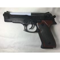 Pistola Ametralladora Con Luz Sonido A Pila Niños Regalo