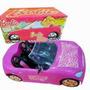Auto Barbie Fashion Original Miniplay+muñeca Barbie Mattel!