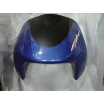 Frente Gilera Smash 110 Azul Con Negro Mate - 2r