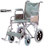 Silla De Ruedas De Transporte Neumatica Plegable Care Quip