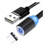 Cable Magnetico Iman Usb Tipo C
