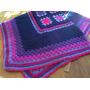 Manta Tejida A Mano Crochet 1,05 Cm * 1,05 Cm