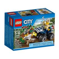 Lego City Atv Patrol Patrulla Policía 60065 Giro Didáctico
