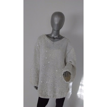 Sweater Pullover Tejido A Mano - Diseño Exclusivo - Unico