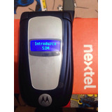 Nextel I764 Negro Refub Full En Caja Orange Libre Flip Azul