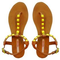 Sandalias Zapatos Mujeres Verano Chatitas Tiras Apliques