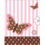 Kit Imprimible Mariposas Tarjetas Cumple Nena Invitaciones