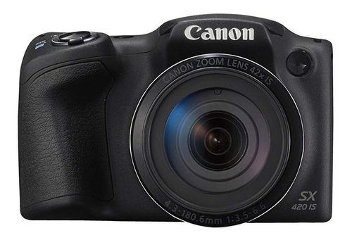 Canon  Powershot Serie Sx Sx420 Is Compacta Avanzada Negra