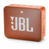 Parlante Jbl Go 2 Portátil Inalámbrico Coral Orange
