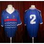 Camiseta Selección Francia #2 Mundial 1998 Adidas Talle L.
