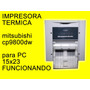 Impresora Termica Mitsubishi Cp9800dw