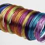 Alambre Aluminio Color X100gs. Bonsai,artesania,etc. Oferta!