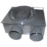 Tiraje Calefactor Estufa Rheem Saiar Caja Tbu Ch 9x5.4cm