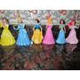 Princesas Disney Muñecas Set X 6 Excelente P/ Tortas