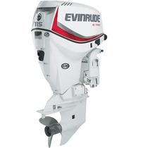 Evinrude E-tec 115 Hp , Okm 2015 En Caja Oportunidad