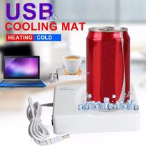 Tipo Mini Heladera Usb Frio Calor Enfriador Refrigera P Auto