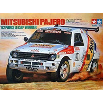 Auto Tamiya Mitsubishi Pajero Para Armar 1/24 Kit 24121