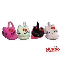 Orejeras De Peluche De Kitty - El Mundo De Hello Kitty