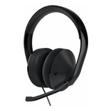 Auriculares Gamer Microsoft Xbox One Stereo Black