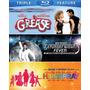 Blu-ray Grease + Fiebre De Sabado Por La Noche + Hairspray