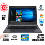 Notebook Intel Core I7 6gb / 500gb Touch Oficina Hogar Cuota