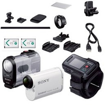 Sony Action Cam Hdr-as200 Vt Con Wi-fi Y Gps