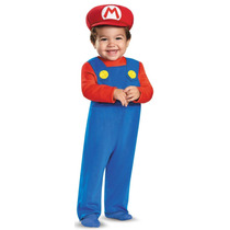 Disfraz Mario Bross Mario O Luigi Infantil Con Gorra Y Bigot