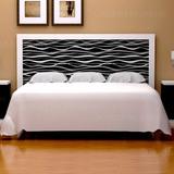 Respaldo Sommier 200cm Diseño - Cama King - Dormitorio