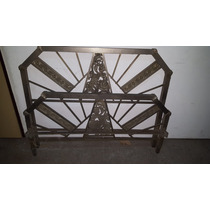 Cama Antigua Bronce Niquelado - Elfiruleteantiguedades