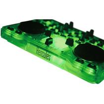 Hercules Dj Glow Consola Mixer Mezcladora Mp3 Audio