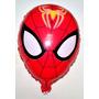 10 Globos Redondos 45cm Spiderman Hombre Araña Cumpleaños