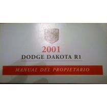 Manual Usuario Dodge Dakota / Ram / Journey Nuevo Originales