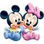 Kit Imprimible Minnie Mickey Bebe Disney Baby